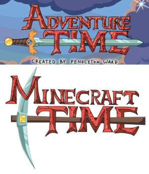 Minecraft meets Adventure time by AT-2