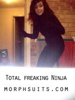 Getting my Ninja on. by CaitlynEdwards91