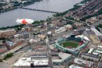 Fenway and the Blimp by Enigma784