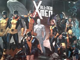 Showing of All-New X-Men at NYCC by DestinyDecade