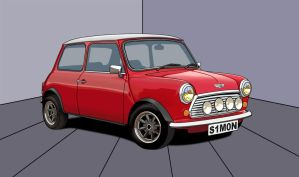 Mini Cooper Vector by BirdieNUFC