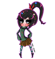 Wreck It Ralph:  Vanellope by DIA-TLOA
