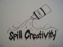Spill Creativity Design 1 by NikumuUzumaki