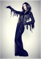 Morticia Addams -  Cara mia! by LolaInProgress