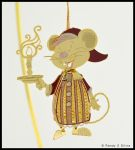 Christmas Mouse by Ransolo