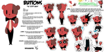 Buttons reference sheet by thefulminaitorx