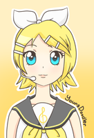 Kagamine Rin by YoungDoodler