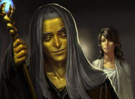 Raistlin Majere by sagasketchbook