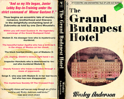 The Grand Budapest Hotel Paperback cover by Johnny-Radar