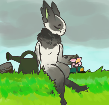 Quiet Times- Grem Spring Festivale Prompt by LaceyLambs
