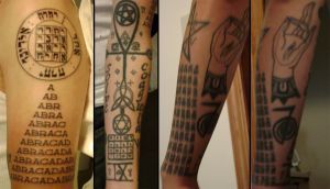 Tattoos- left arm by TheIronClown