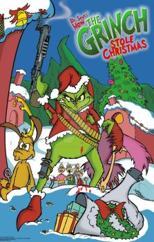 How the Grinch Stole Christmas by studiocomix