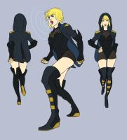 PR: Black Canary Redesign by bluestraggler
