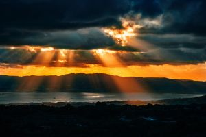 Burning sky by ges6