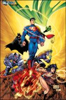 Jla Issue 3 Variant By Jonathanglapion XGX by knytcrawlr