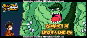 AT4W: Kamandi at Earth's End #6 by MTC-Studio