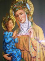 Saint Anne by Theophilia