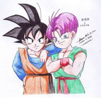 Goten Trunks by hirokada