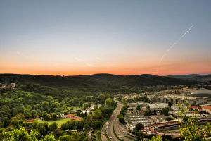 Sunset HDR by haxxy