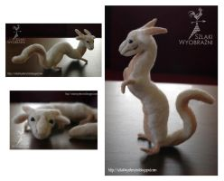 Luck Dragon - needle felting by yenefer