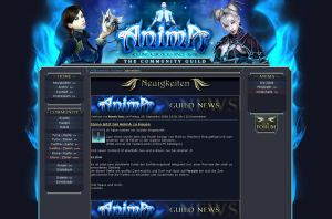 Anima Guild Homepage by Tighty