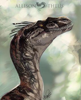 Maxx Pink line Raptor by beastofoblivion