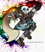 Ink Sans! by Xedramon