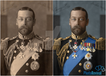 King George V - Colourisation by PhotoRevival