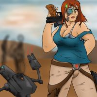 Sara Cader epic, Thanks for the 100 by Starfighterace-421