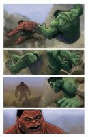 Page sample hulk by galindoart