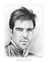 Zachary Quinto by gregchapin