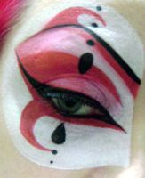 Harlequin - Close-up by BeccyBex