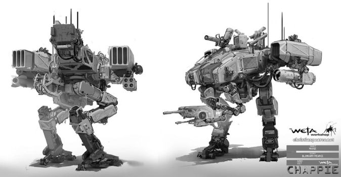 Chappie Moose2 Pearce by ChristianPearce