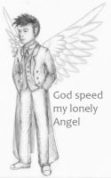 God speed my lonely Angel by JulLoy