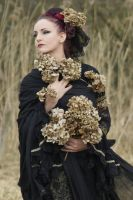 Stock - Gothic rotten flowers  2 by S-T-A-R-gazer