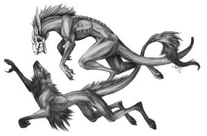 Morbius n Icky by Doctor-Axel