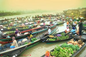 Floating Market by herryseptian