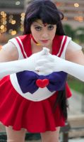 Sailor Mars: Mars... fire.... IGNITE! by Kapalaka
