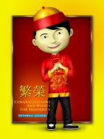 Chinese Boy by faqeeh