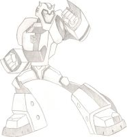 TF:A - Bumblebee Pose by FFsGunslingerVincent