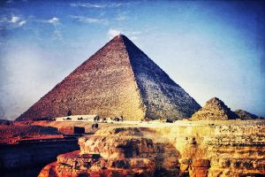 The Great Pyramid Of Giza by caie143