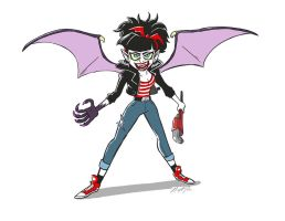 Greaser Dracula by NicParris