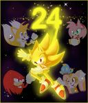 Sonic's 24th Anniversary by TheBlueRing
