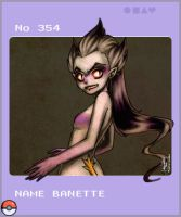 No 354 Banette by merit