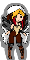 Entei Pokemon Girl Animated Adoptable by Queen-Of-Cute