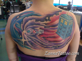 Tardis and TimeVortex FINISHED by LuckyPineapple