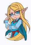 Elven Scholar Colored by Maiko-Girl