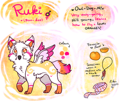 Ruki - Reference Sheet by Fayven