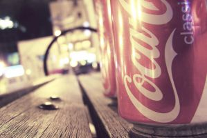 Coca Cola Light by aMossology