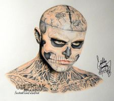 Rick Genest 3 by GeeFreak